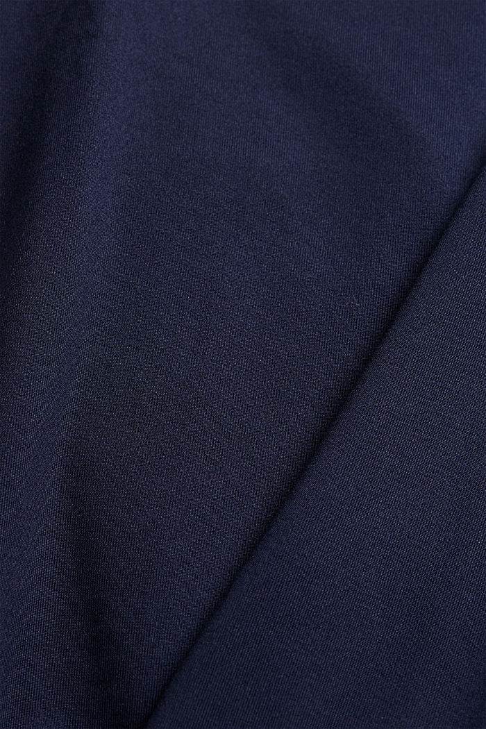 Recycelt: Active-Top mit E-DRY, NAVY, detail image number 4