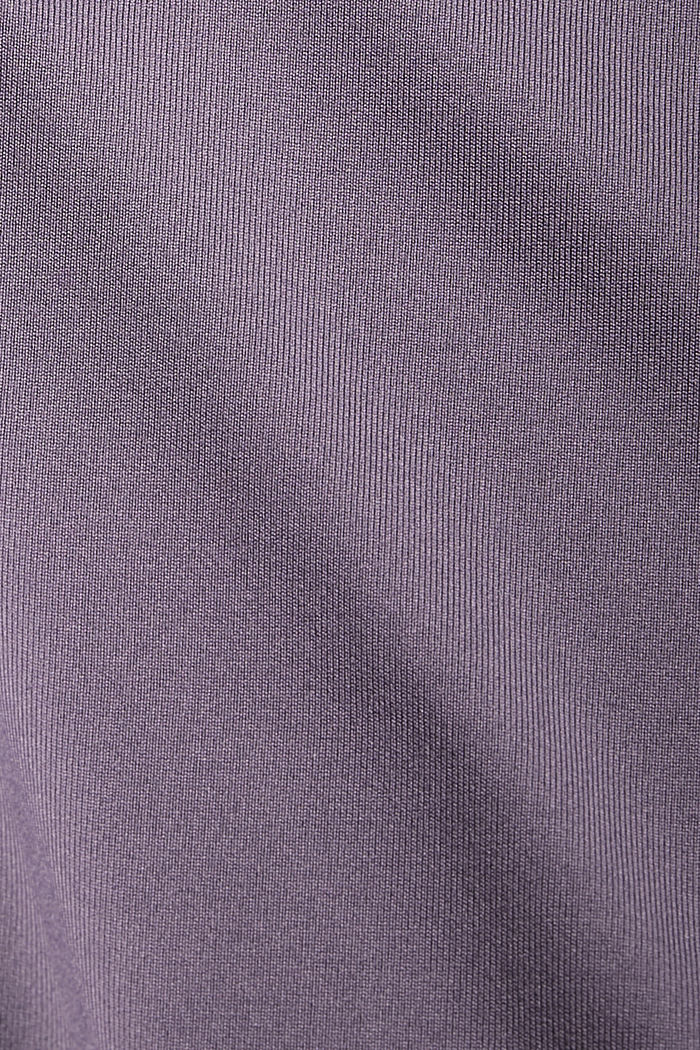 Recycled: active top with E-DRY, MAUVE, detail image number 4