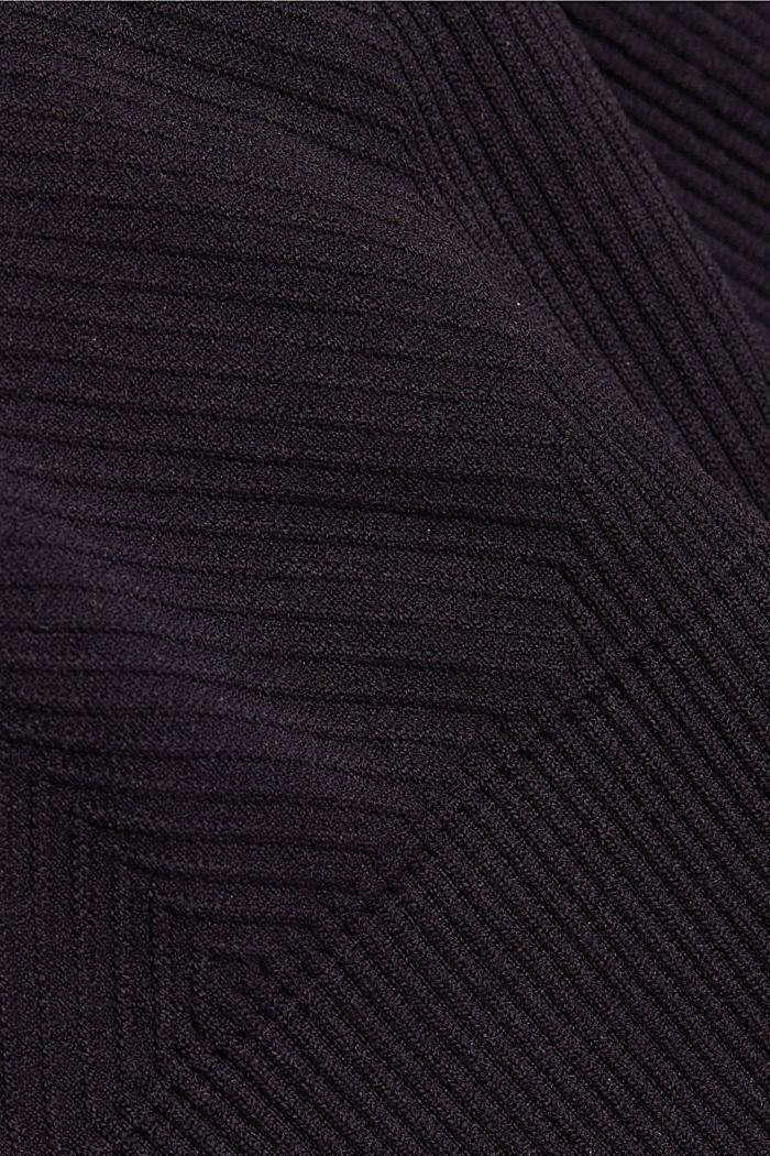 Recycelt: nahtloser Sport-BH, BLACK, detail image number 3