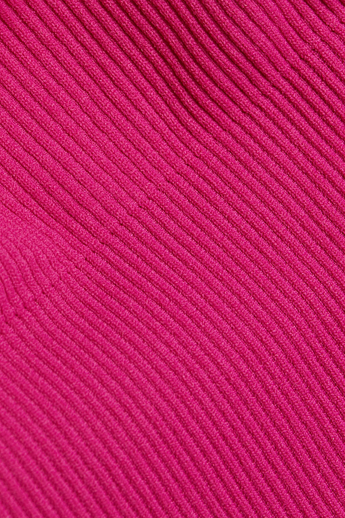 Recycelt: nahtloser Sport-BH, BERRY RED, detail image number 4