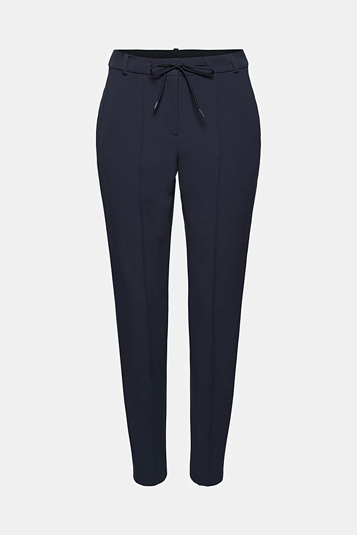 Two-way stretch trousers in a tracksuit style