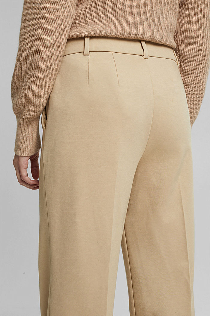 SOFT PUNTO Mix + Match stretch trousers, SAND, detail image number 2