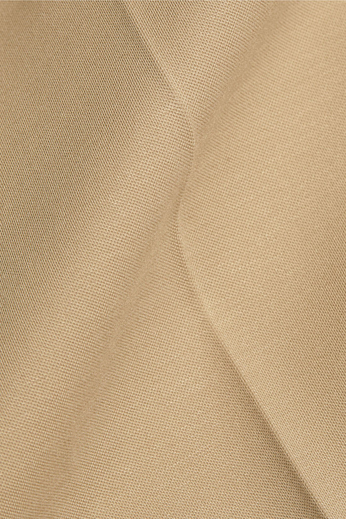 SOFT PUNTO Mix + Match stretch trousers, SAND, detail image number 4