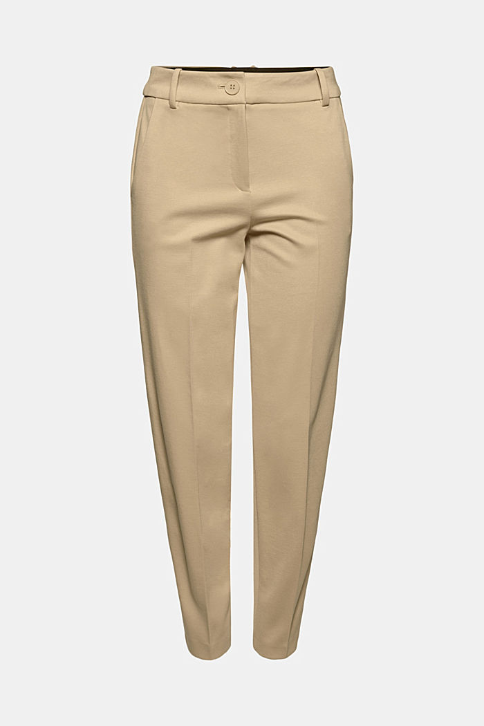 SOFT PUNTO Mix + Match stretch trousers, SAND, detail image number 5