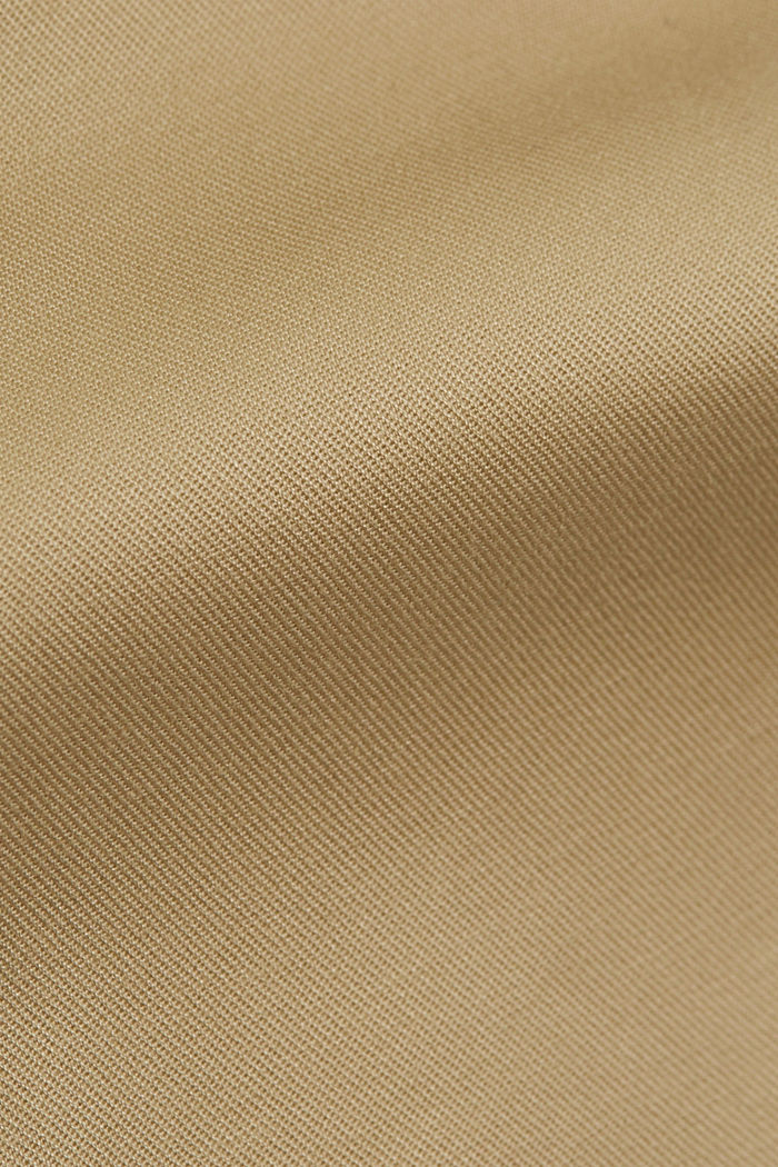 Business-Chino aus Baumwollstretch, SAND, detail image number 4