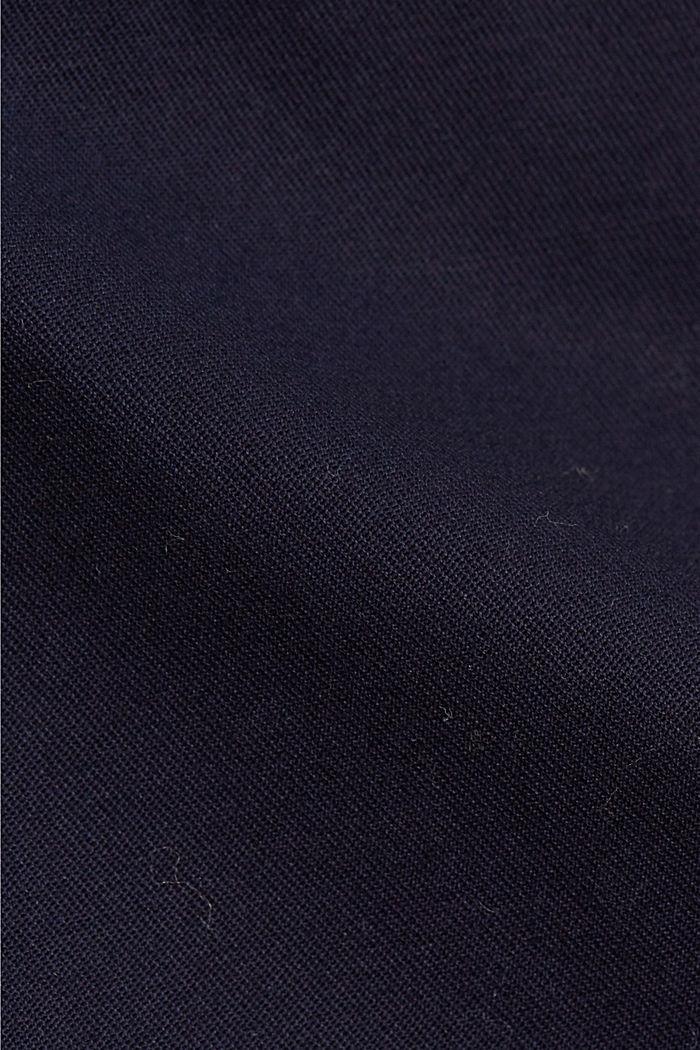 Business-Chino aus Baumwollstretch, NAVY, detail image number 4