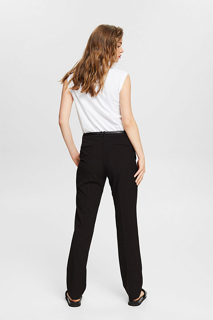PURE BUSINESS mix + match trousers, BLACK, detail image number 3