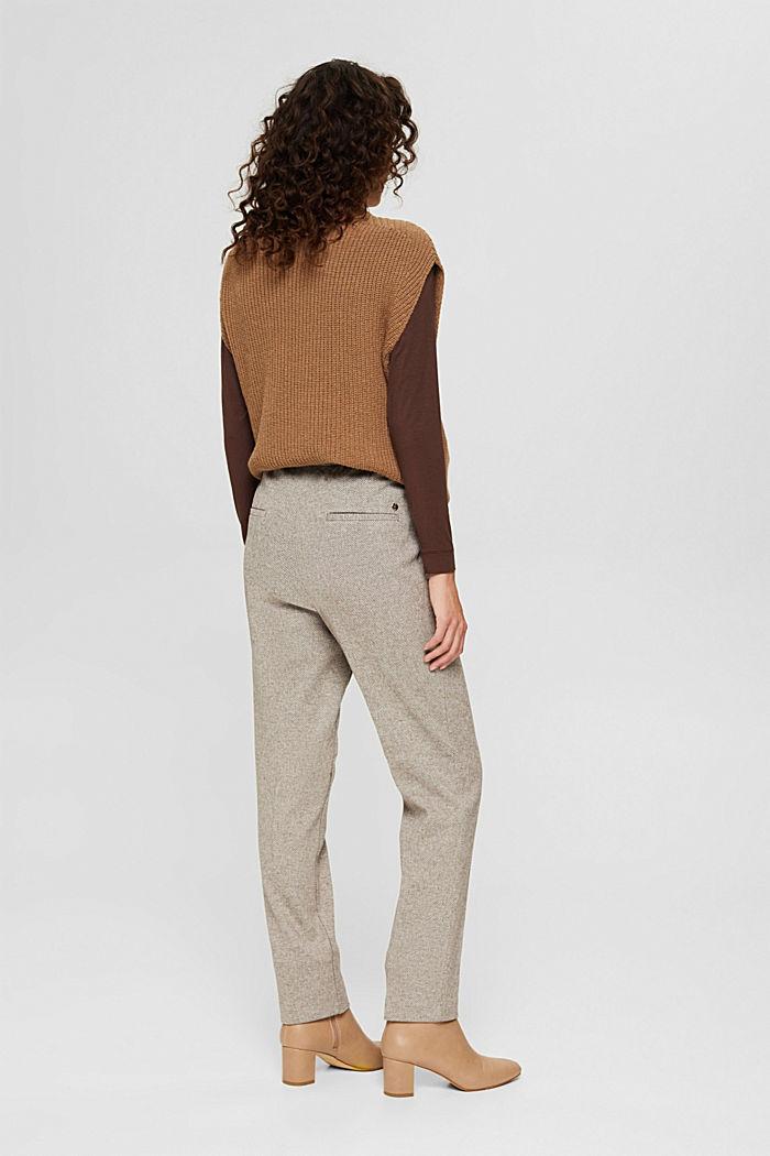 Pants woven, CARAMEL, detail image number 3