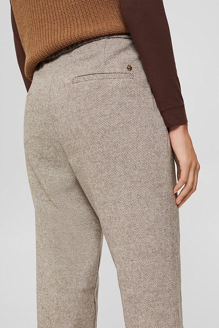 Pants woven, CARAMEL, detail image number 5