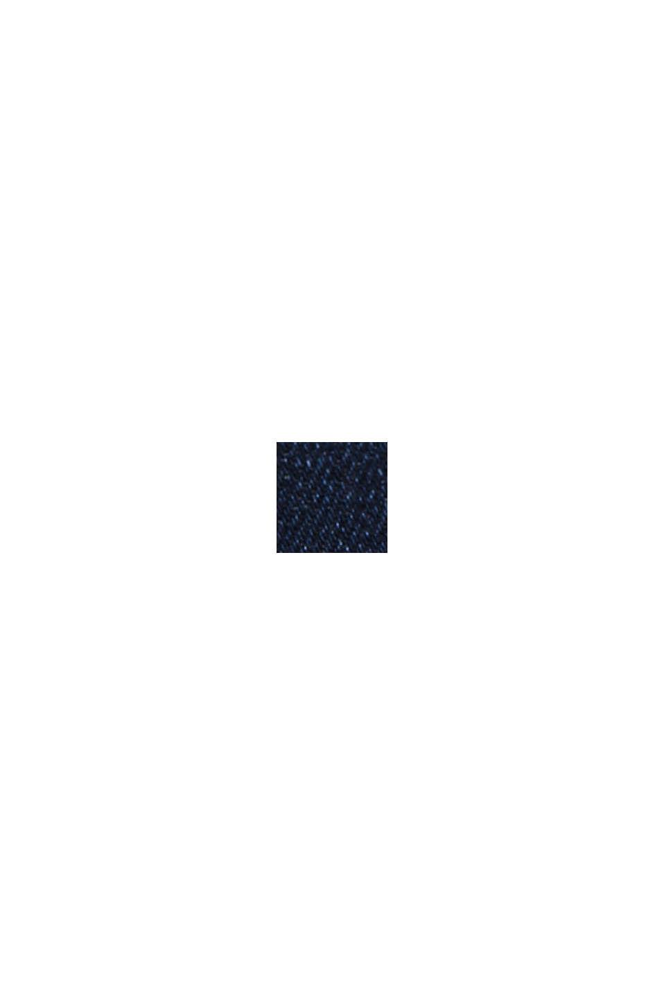 Jean stretch en coton bio, BLUE DARK WASHED, swatch