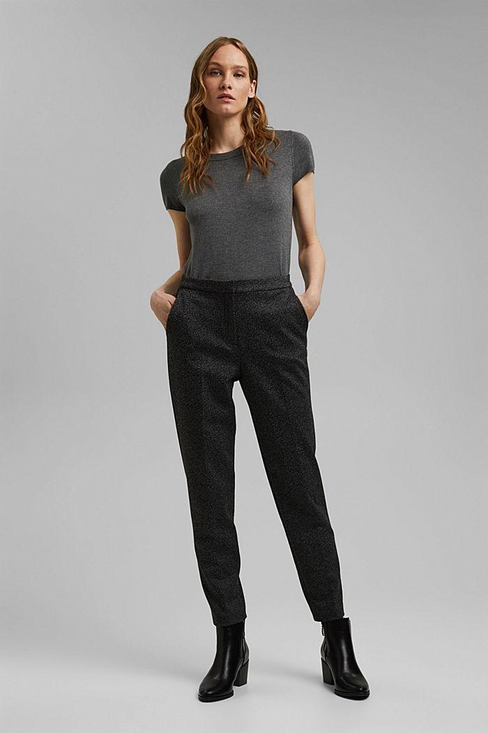 Elastyczne spodnie Mix + Match HERRINGBONE