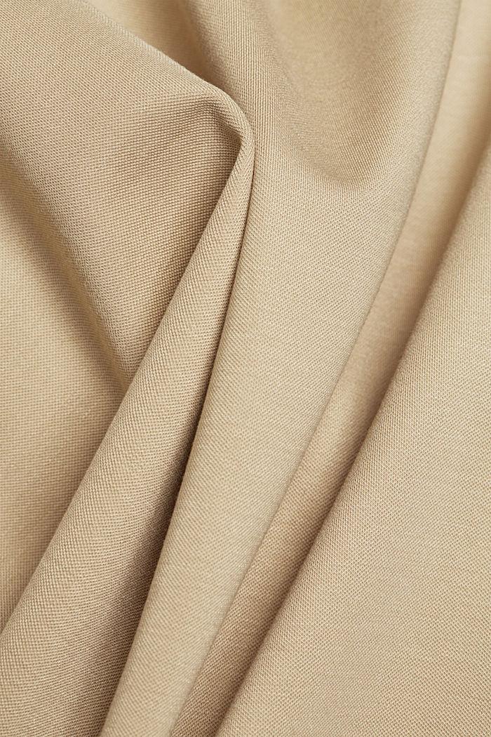 SOFT PUNTO Mix + Match stretch skirt, SAND, detail image number 4
