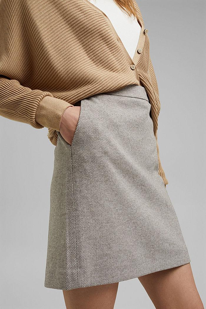 SOFT mix + match A-line skirt, CARAMEL, detail image number 2