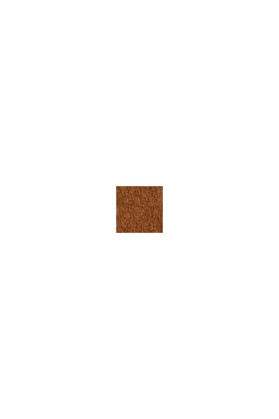 À teneur en laine: la mini-jupe de coupe trapèze, TOFFEE, swatch