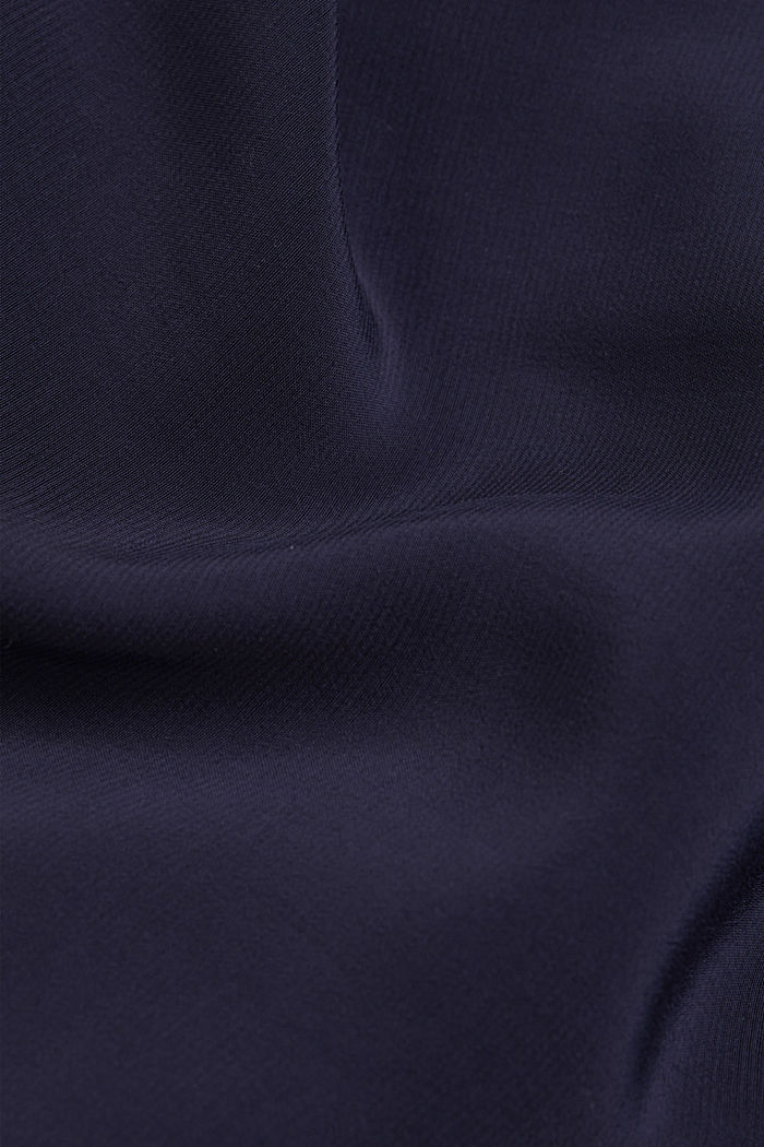 Shirt dress with LENZING™ ECOVERO™, NAVY, detail image number 4