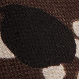 In materiale riciclato: abito in chiffon con stampa, DARK BROWN 4, swatch