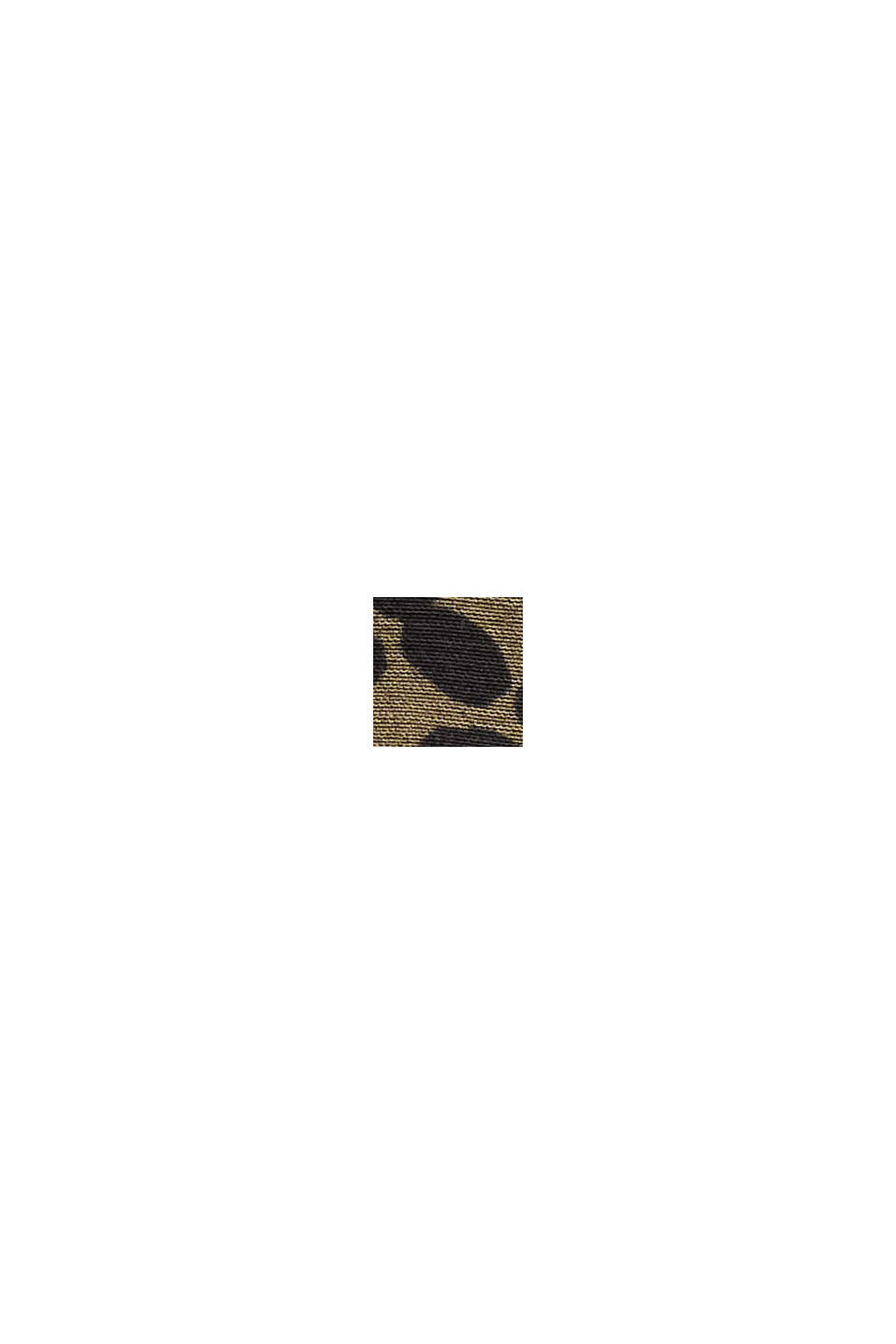 Abito camicia con LENZING™ ECOVERO™, KHAKI GREEN, swatch