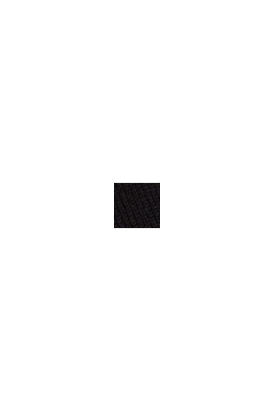 Strickkleid mit LENZING™ ECOVERO™, BLACK, swatch
