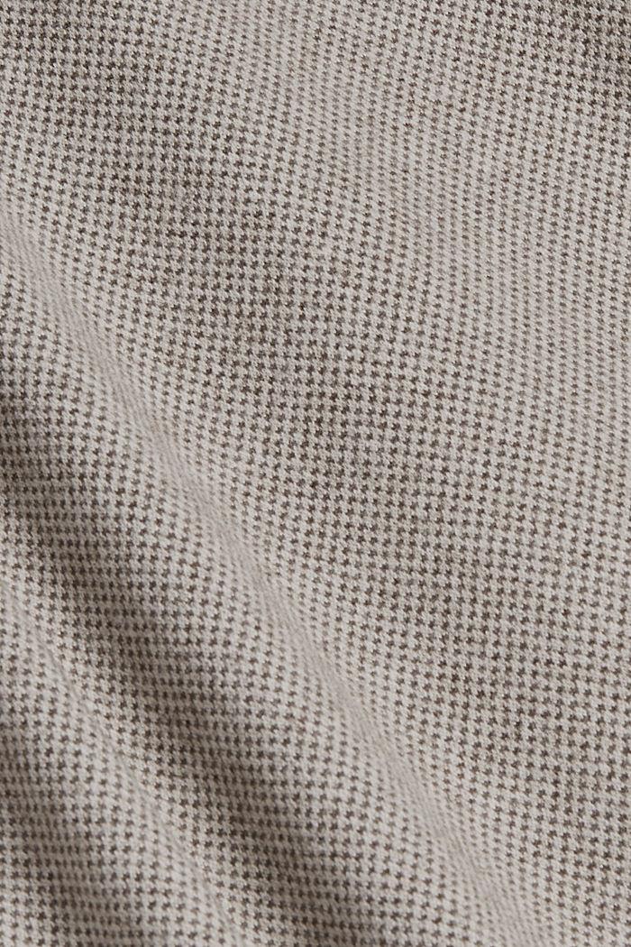 SOFT Mix + Match midi-jurk met ceintuur, CARAMEL, detail image number 4