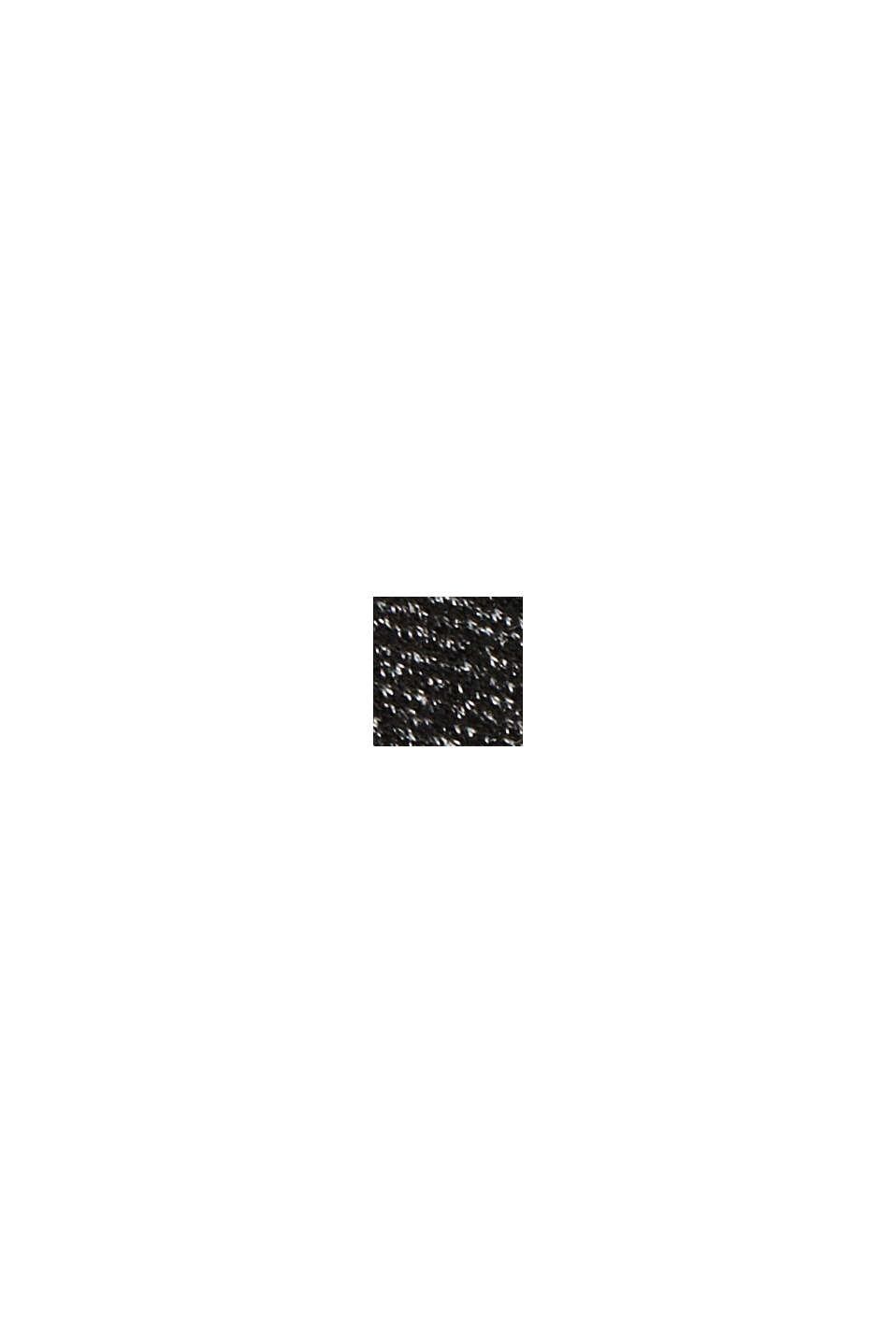 Mix + Match HERRINGBONE midi-jurk met ceintuur, BLACK, swatch