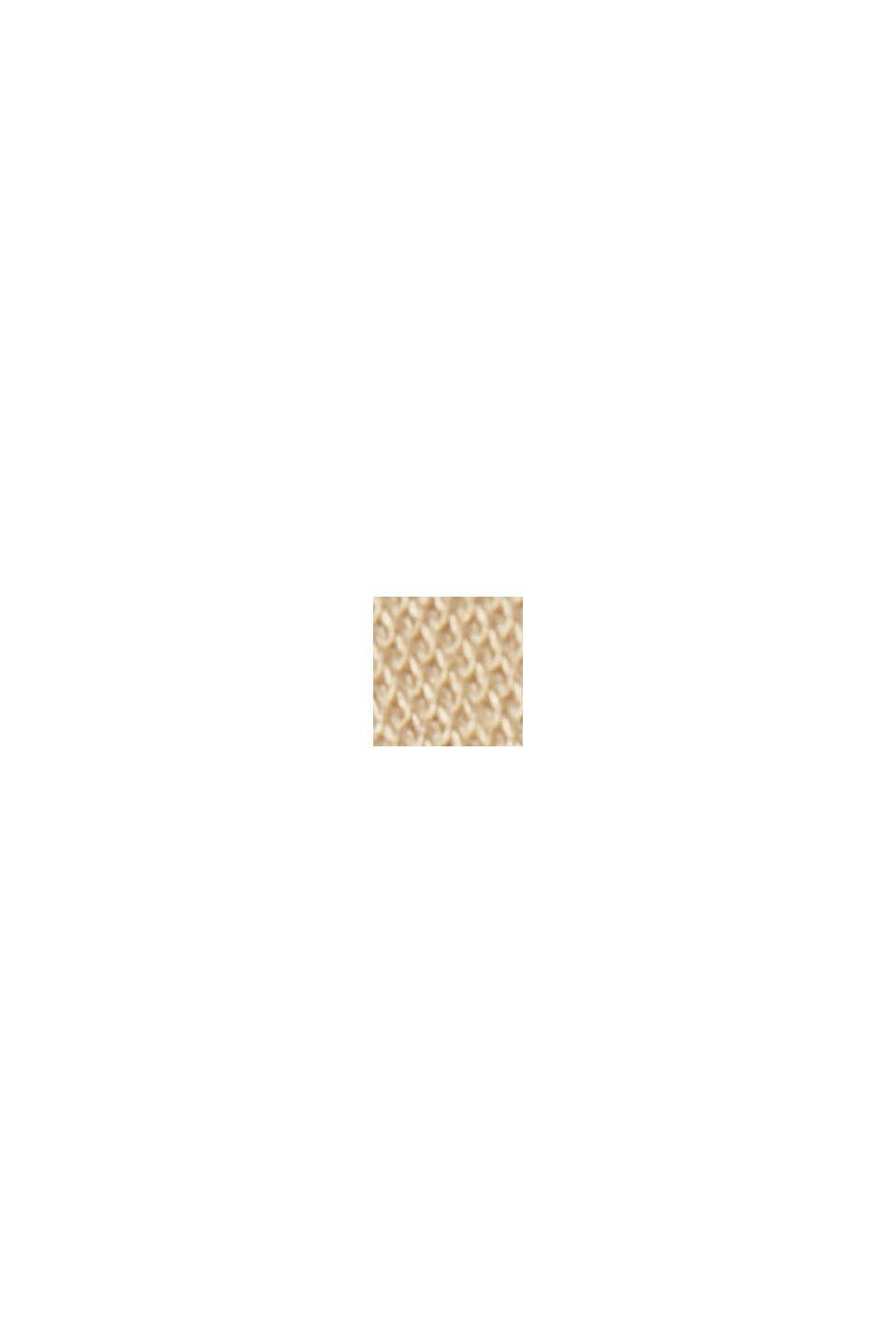 SOFT PUNTO Mix + Match blazer in jersey, SAND, swatch