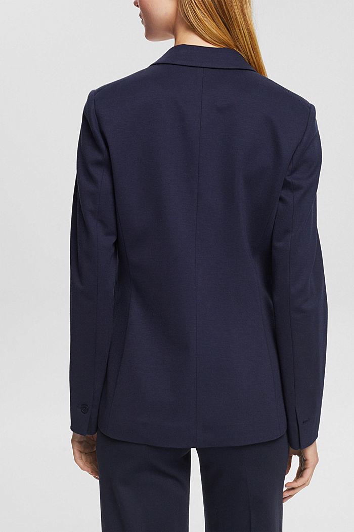 SOFT PUNTO Mix + Match jersey blazer, NAVY, detail image number 3