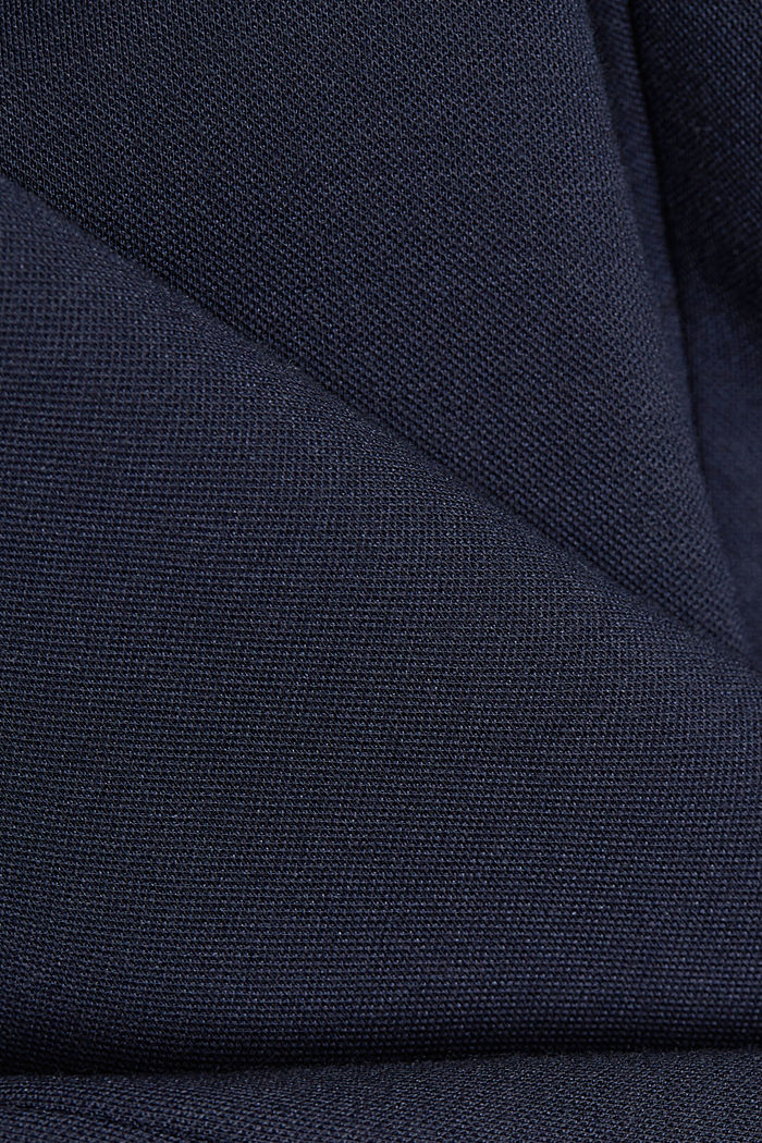 SOFT PUNTO Mix + Match jersey blazer, NAVY, detail image number 4