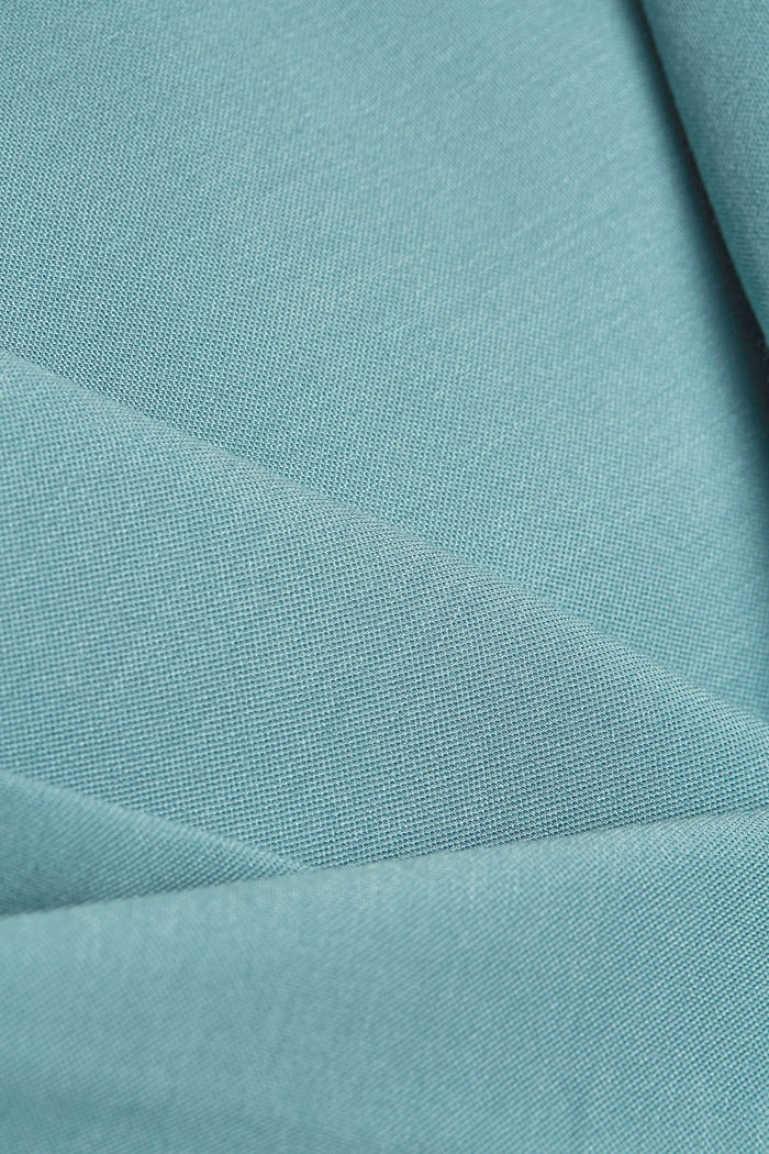 SOFT PUNTO Mix + Match Jersey-Blazer, DARK TURQUOISE, detail image number 4