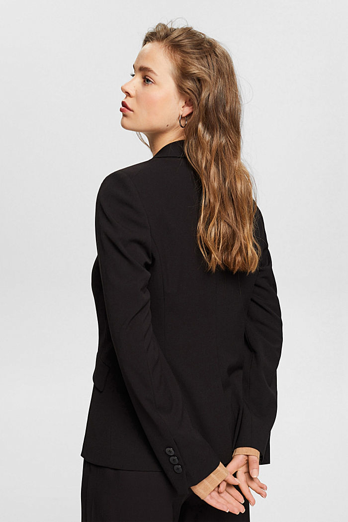 PURE BUSINESS mix + match blazer, BLACK, detail image number 3