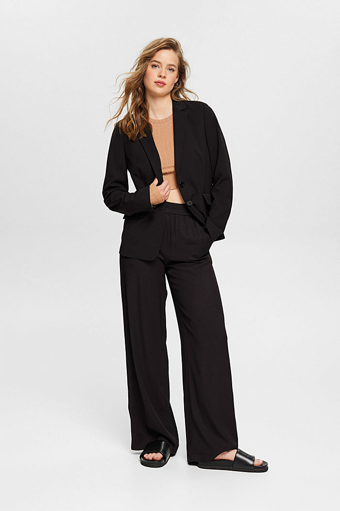 PURE BUSINESS mix + match blazer, BLACK, detail image number 1