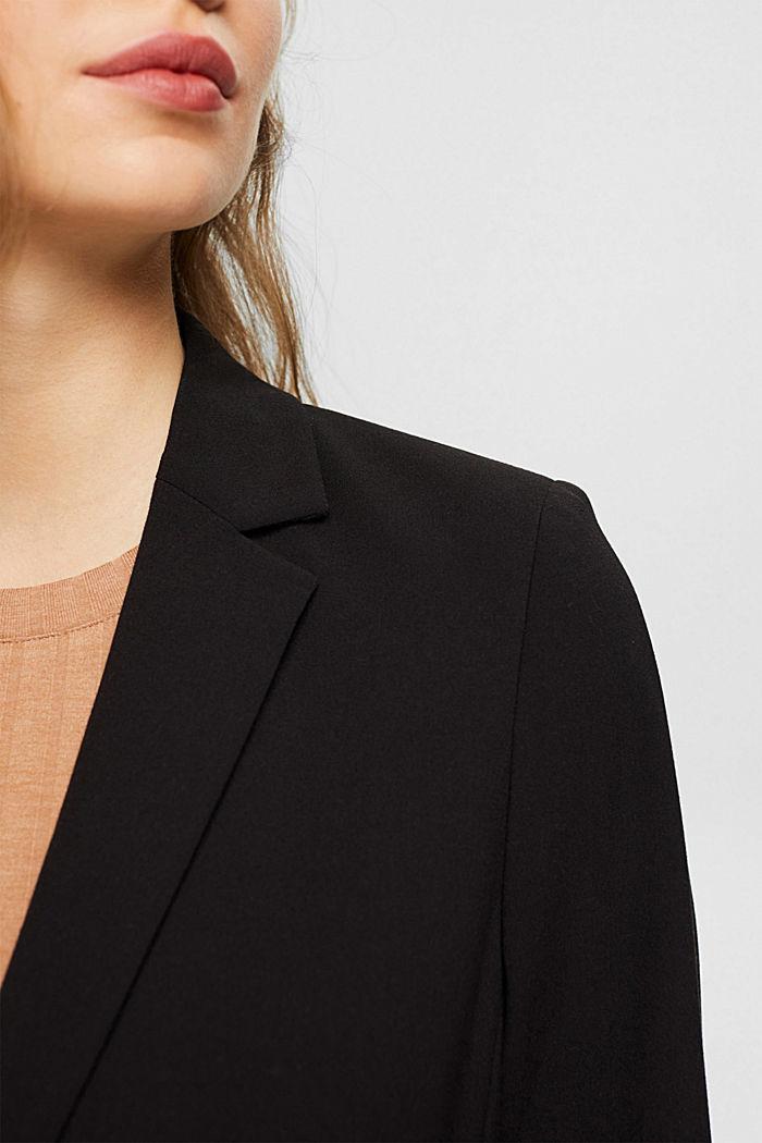 PURE BUSINESS mix + match blazer, BLACK, detail image number 2
