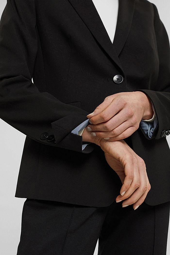 PURE BUSINESS mix + match blazer, BLACK, detail image number 5