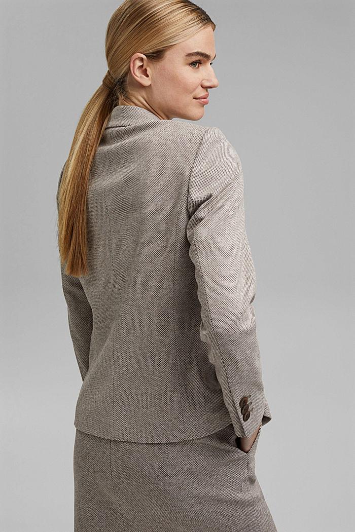SOFT mix + match blazer, CARAMEL, detail image number 3