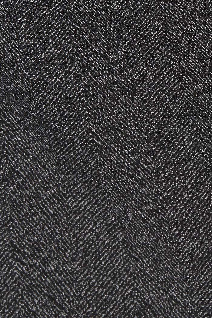 Blazer Mix + Match SPINA DI PESCE, BLACK, detail image number 4