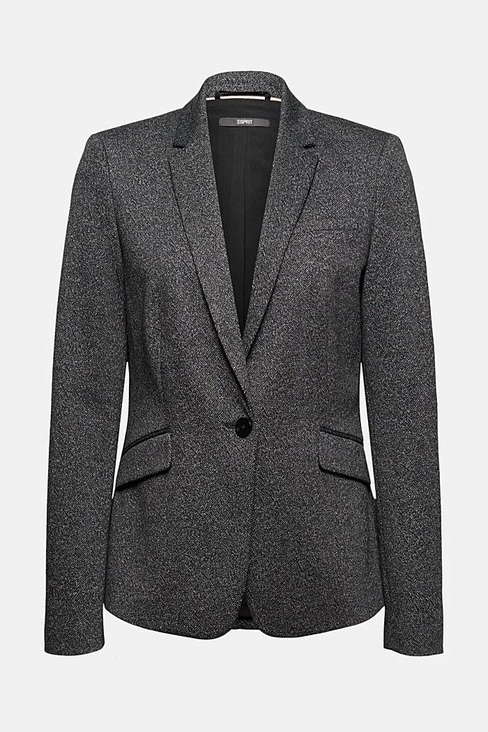 Mix + Match HERRINGBONE blazer