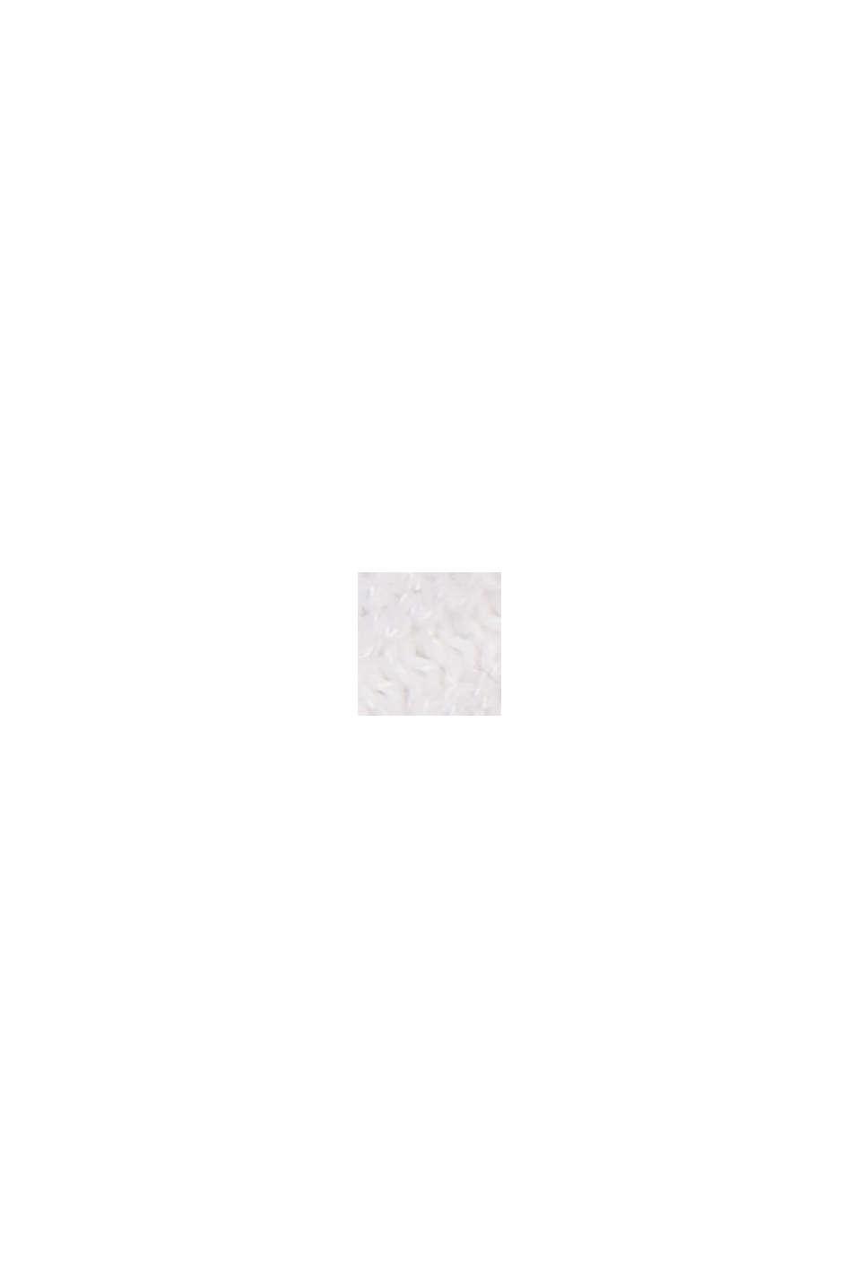 Mit Lyocell TENCEL™: Ripp-Pullover, WHITE, swatch