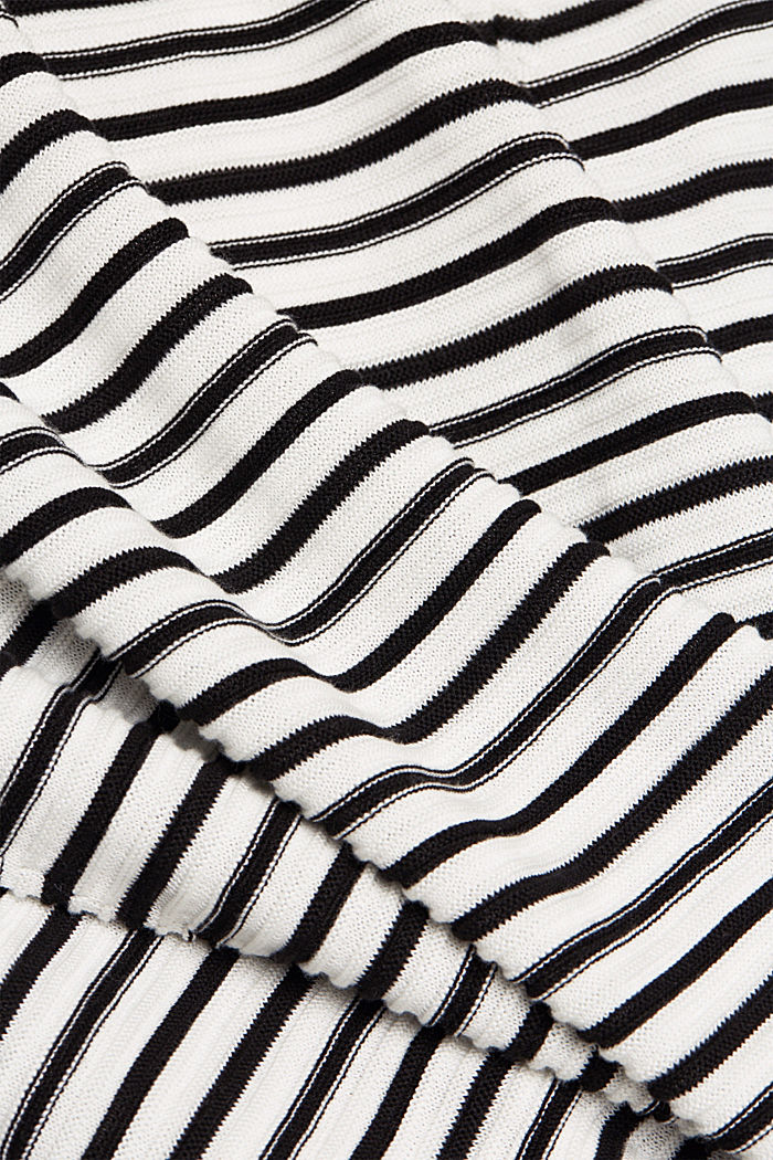 Mit Lyocell TENCEL™: Ripp-Pullover, OFF WHITE, detail image number 4