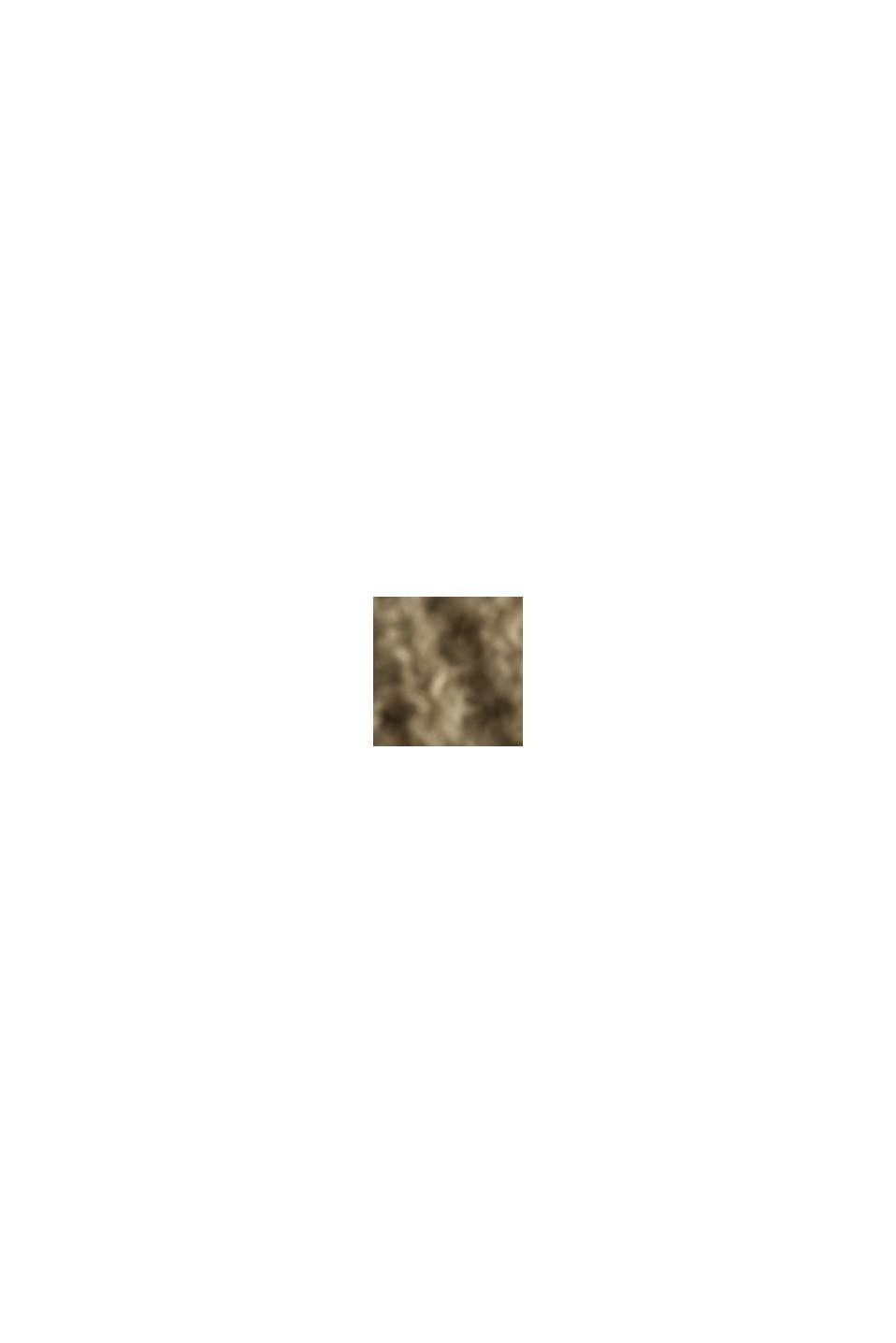 Mit Alpaka: Pullover mit V-Ausschnitt, LIGHT KHAKI, swatch