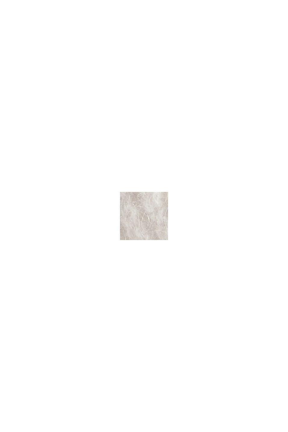 Mit Wolle/Alpaka: Cardigan aus Rippstrick, ICE, swatch