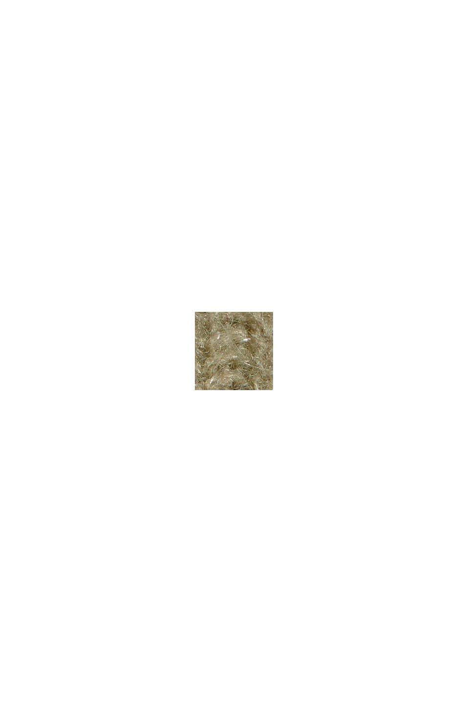 Mit Wolle/Alpaka: Cardigan aus Rippstrick, LIGHT KHAKI, swatch