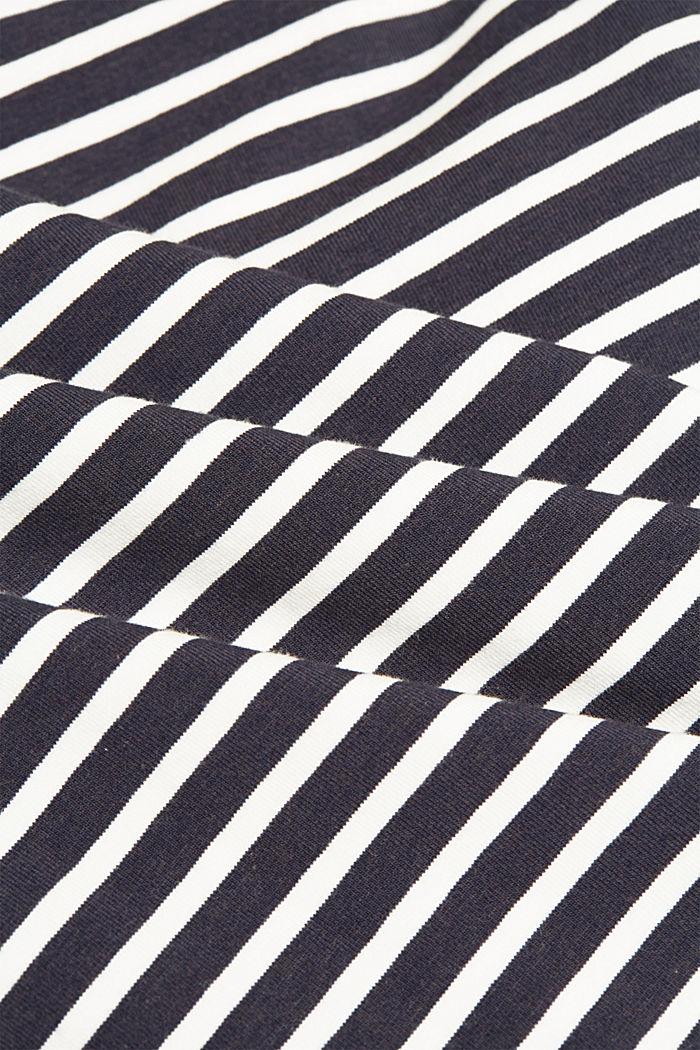 Aus TENCEL™/Modal-Mix: Streifen-Shirt, NAVY, detail image number 4