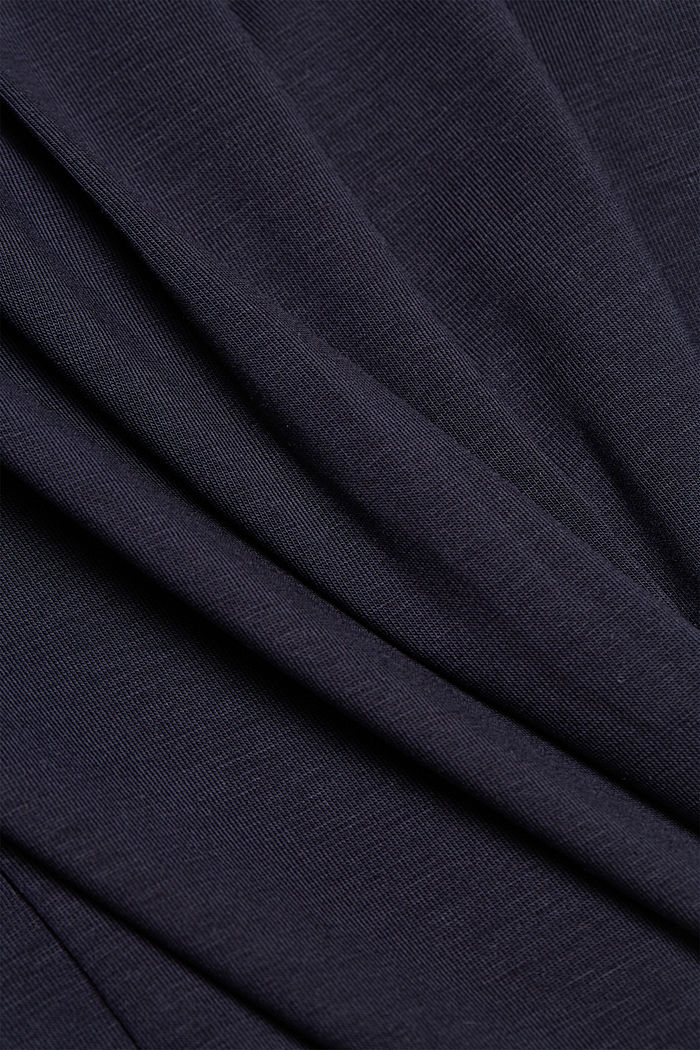 Lyocell blend T-shirt, NAVY, detail image number 4