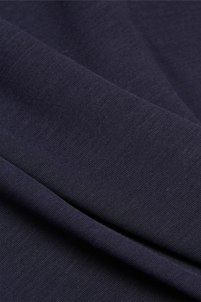 T-shirt made of 100% lyocell, NAVY, detail image number 4
