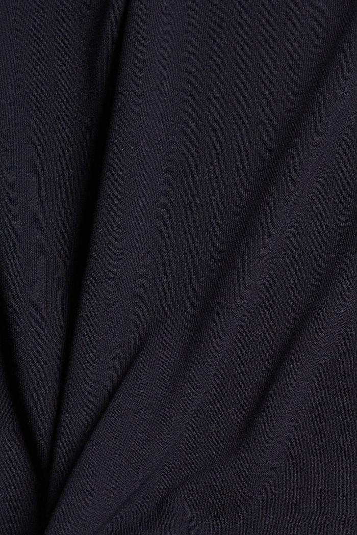 Jerseytop mit Spitze aus LENZING™ ECOVERO™, BLACK, detail image number 4