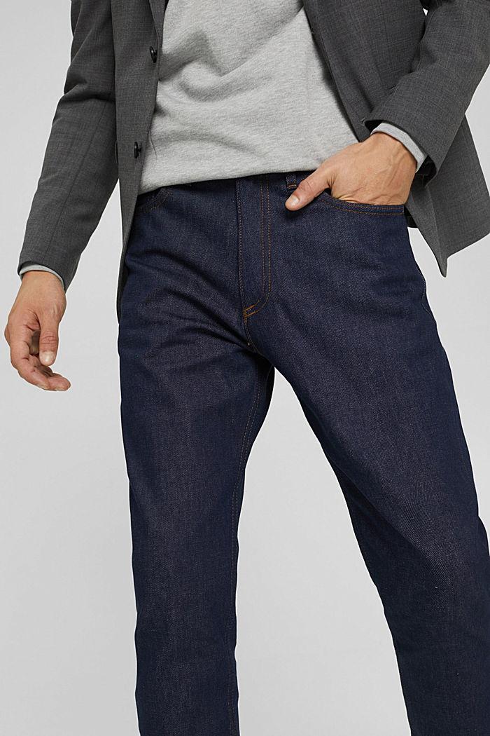 Jean 100% coton biologique, BLUE RINSE, detail image number 3