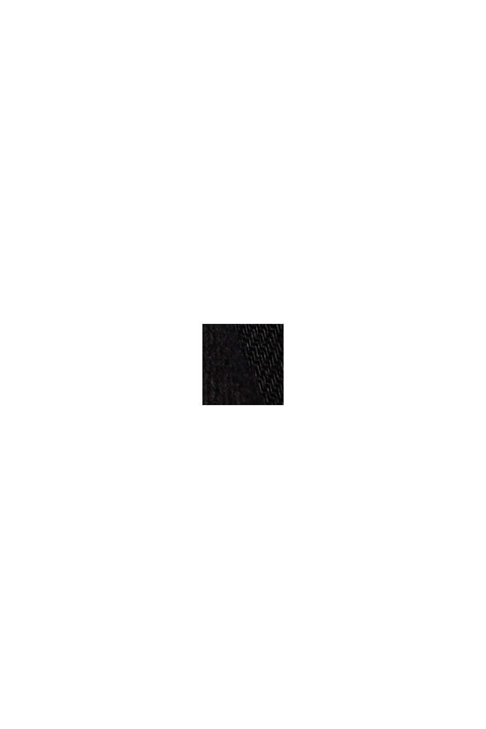 Stretchjeans van biologisch katoen, BLACK RINSE, swatch