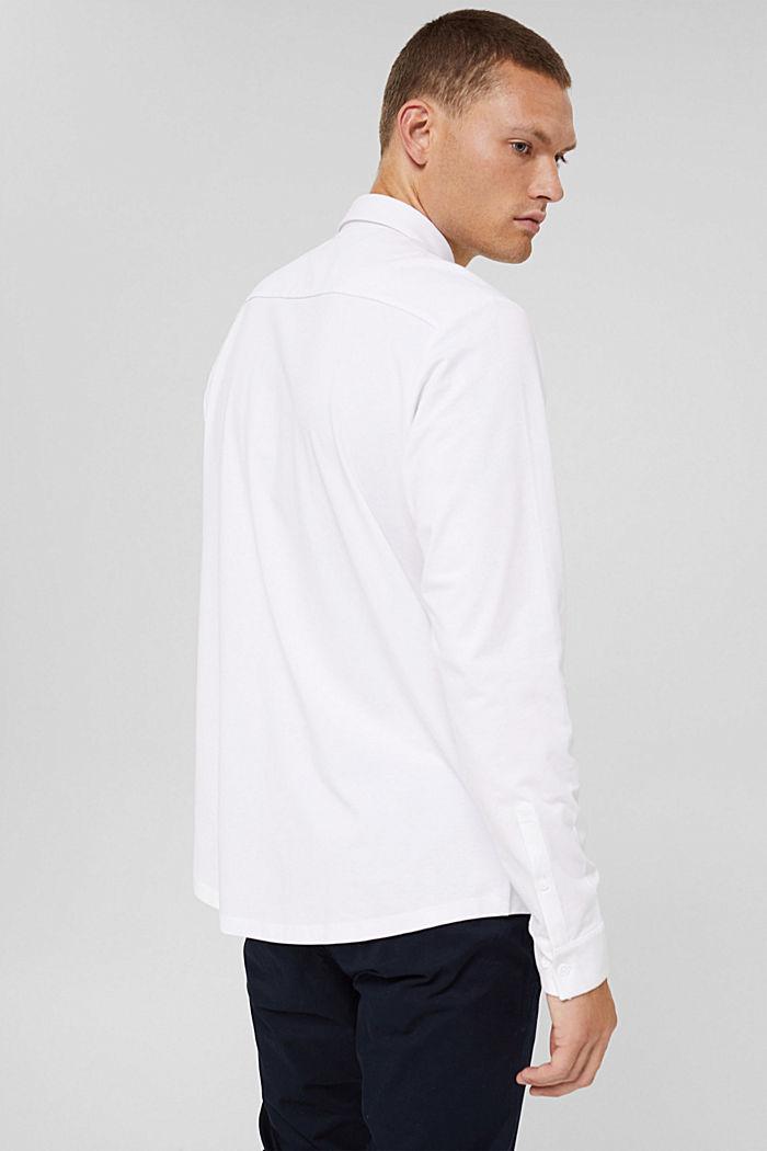 Jersey overhemd met COOLMAX®, WHITE, detail image number 3
