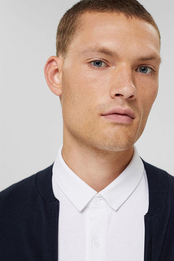 Jersey overhemd met COOLMAX®, WHITE, detail image number 6