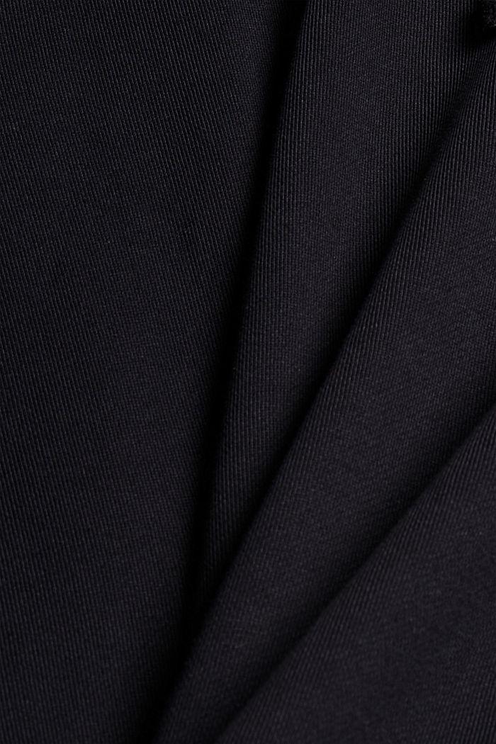 Sweat à capuche en coton/TENCEL™, BLACK, detail image number 5