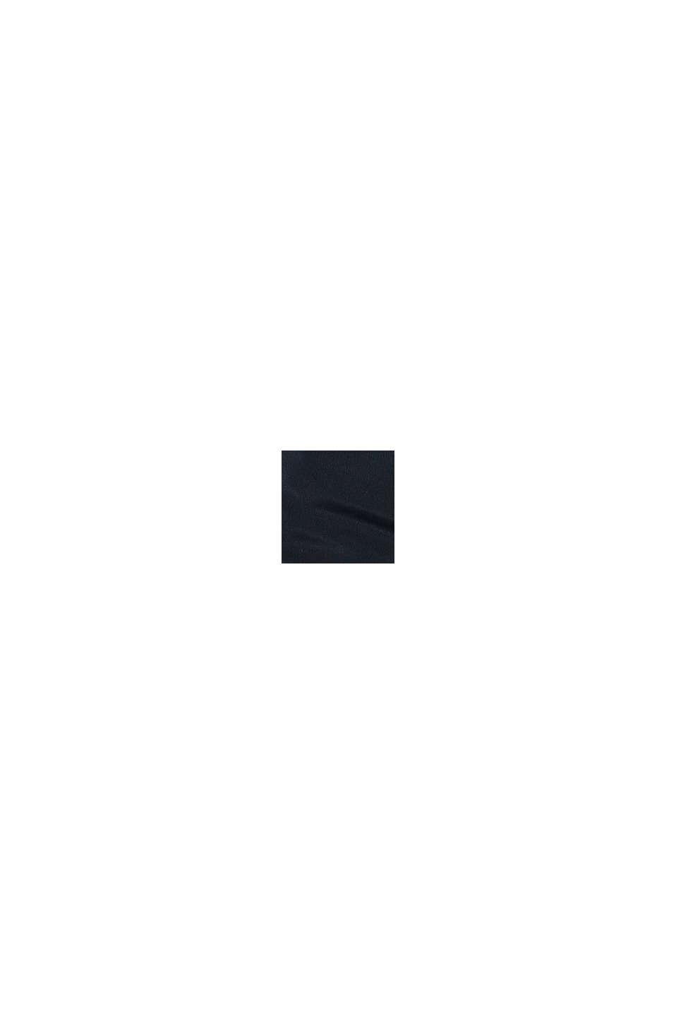 Veste à capuche matelassée, BLACK, swatch